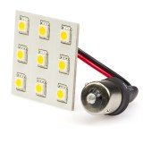1156-PCB-xWHP9: 1156 LED Bulb - Single Intensity 9 High Power SMD LED Lamp
