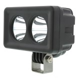 "AUX-20W-D15: 4"" Dual LED Mini Auxiliary Work Light - 20W"