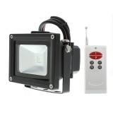 FL-RGB120-10W: High Power 10W RGB LED Flood Light Fixture with Remote