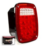 LBL-R16W18-LP: Multi-Function LED Box Tail Lamp w/ License Light