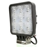 WL-27W-Sx: 5&quot; Square 27W Heavy Duty High Powered LED Work Light