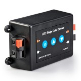 LDB-8A: LDB-8A 12~24 Volt DC Single Color LED Push Button Dimmer