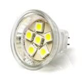 MR11-xHP6-DI: 6 High Power LED MR11 Bulb